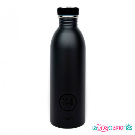 BOTELLA URBAN 24BOTTLES 500ML - NEGRA