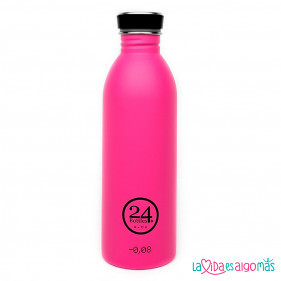 BOTELLA URBAN 24BOTTLES 500ML - ROSA