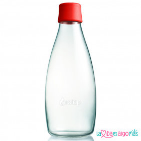BOTELLA RETAP 800ML - ROJO