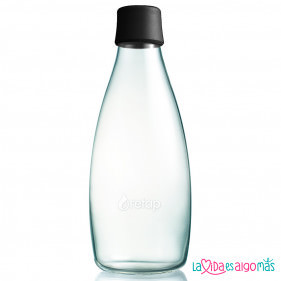 BOTELLA RETAP 800ML - NEGRO