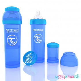 BIBERON TWISTSHAKE ANTICÓLICO -  AZUL 330 ML