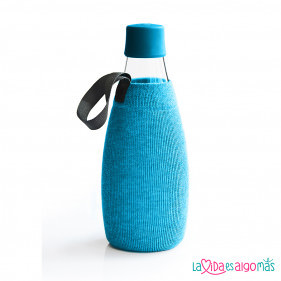 FUNDA BOTELLA RETAP 800ML - AZUL CLARO
