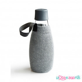 FUNDA BOTELLA RETAP 500ML - GRIS