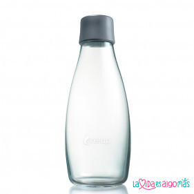BOTELLA RETAP 500ML - GRIS