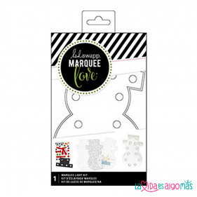 KIT MUÑECO DE NIEVE LUMINOSO MARQUEE LOVE