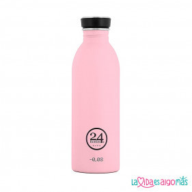 BOTELLA URBAN 24BOTTLES 500ML - ROSA PASTEL