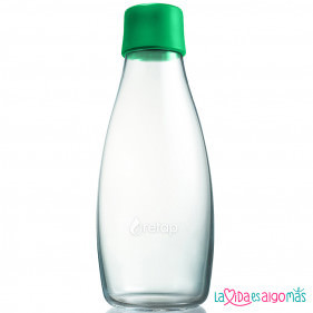 BOTELLA RETAP 500ML - VERDE BOSQUE