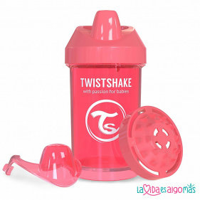 VASO ANTIDERRAME TWISTSHAKE 300ML 8+M - CORAL