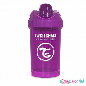 VASO ANTIDERRAME TWISTSHAKE 300ML 8+M - LILA