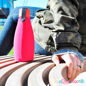 FUNDA BOTELLA RETAP 500ML - ROSA
