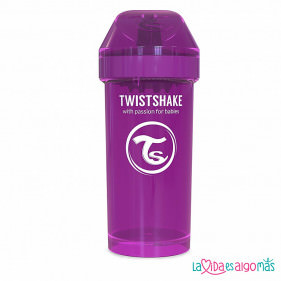 VASO ANTIDERRAME TWISTSHAKE 360ML 12+M - LILA