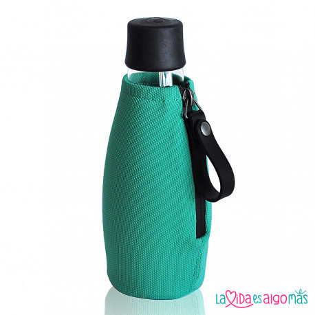 FUNDA BOTELLA RETAP 500ML - VERDE