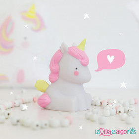 LÁMPARA QUITAMIEDOS UNICORNIO