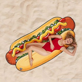 TOALLA GIGANTE HOT DOG