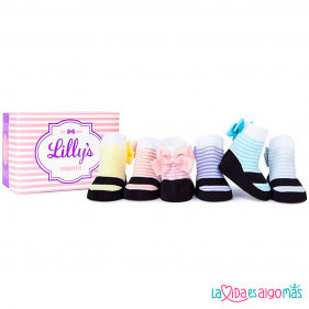 CALCETINES TRUMPETTE - LILLY'S (6 PARES)