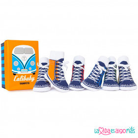 CALCETINES TRUMPETTE - CALIBABY'S (6 PARES)