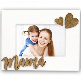 """MARCO FOTOS PERSONALIZADO CON FOTO """"MAMÁ"""""""
