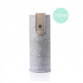 FUNDA PARA BOTELLAS EQUA MISMATCH 750ML - ARENA CIELO