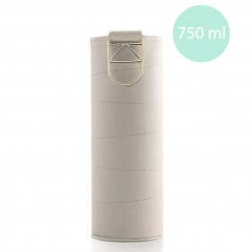 FUNDA PARA BOTELLAS EQUA MISMATCH 750ML - BEIGE