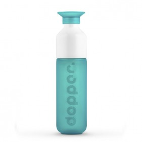 BOTELLA CON VASO DOPPER ORIGINAL 450ML - SEA GREEN