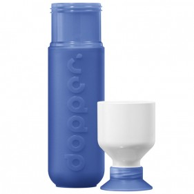 BOTELLA CON VASO DOPPER ORIGINAL 450ML - PACIFIC BLUE