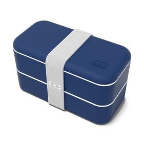 FIAMBRERA BENTO BOX MONBENTO ORIGINAL - NAVY