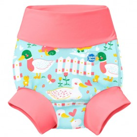 BAÑADOR PAÑAL HAPPY NAPPY SPLASH ABOUT - LITTLE DUCKS