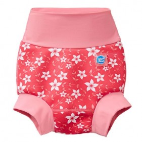 BAÑADOR PAÑAL HAPPY NAPPY SPLASH ABOUT - PINK BLOSSOM