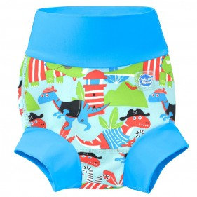 BAÑADOR PAÑAL HAPPY NAPPY SPLASH ABOUT - DINO PIRATES