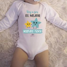 """BODY C/ AMERICANO  """"VOY A SER EL MEJOR HERMANO MAYOR"""" M/L"""