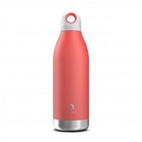 BOTELLA TÉRMICA ACERO INOXIDABLE BEVU 450ML - CORAL