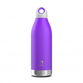BOTELLA TÉRMICA ACERO INOXIDABLE BEVU 450ML - VIOLET
