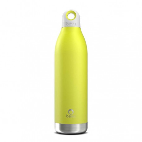 BOTELLA TÉRMICA ACERO INOXIDABLE BEVU 550ML - LEMON