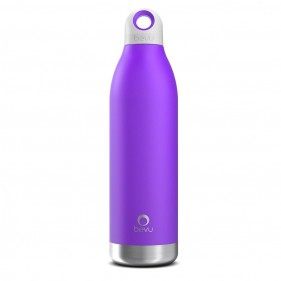BOTELLA TÉRMICA ACERO INOXIDABLE BEVU 550ML - VIOLET