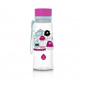 BOTELLA TRITÁN EQUA 600ML - PINK MONSTERS