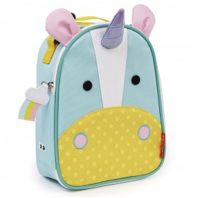 MOCHILA TÉRMICA MERIENDA SKIP HOP - UNICORNIO