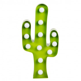 CACTUS LUMINOSO DE PARED LED
