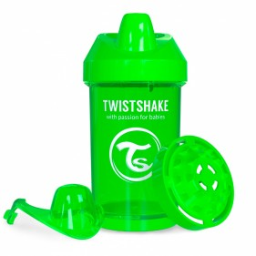 VASO ANTIDERRAME TWISTSHAKE 300ML 8+M - VERDE