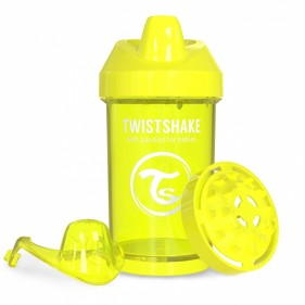 VASO ANTIDERRAME TWISTSHAKE 300ML 8+M - AMARILLO