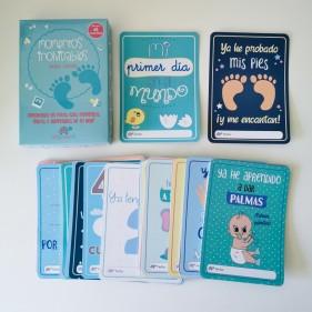 """TARJETAS DE BEBÉ """"MOMENTOS INOLVIDABLES"""" BABY CARDS"""