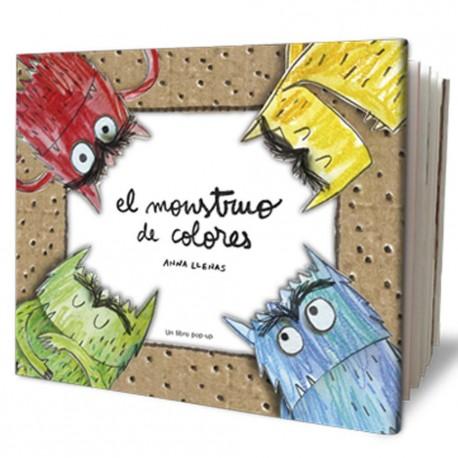 EL MONSTRUO DE COLORES POP UP DE ANNA LLENAS