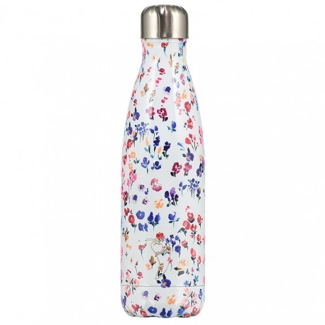 BOTELLA TÉRMICA ACERO INOXIDABLE CHILLY'S 500ML - FLORES SILVESTRES