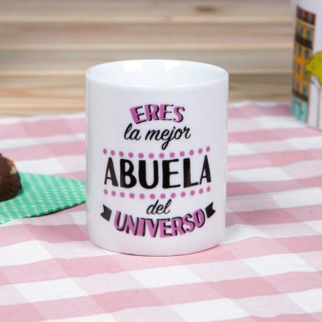"TAZA ""LA MEJOR ABUELA DEL UNIVERSO"""