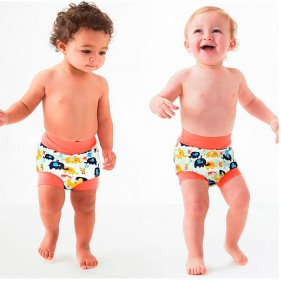 BAÑADOR PAÑAL HAPPY NAPPY SPLASH ABOUT - LITTLE ELEPHANTS