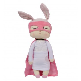 MUÑECA LITTLE BUNNY SUPER HERO - FUCSIA MINIROOM