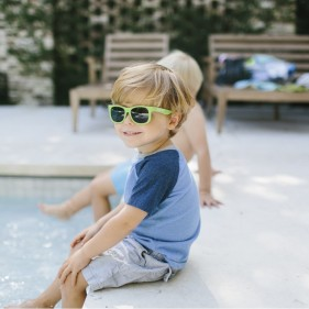 GAFAS DE SOL FLEXIBLES BABIATORS - SUBLIME LIME (3 - 5 AÑOS)