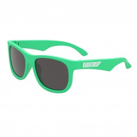 GAFAS DE SOL FLEXIBLES BABIATORS - TROPICAL GREEN (3 - 5 AÑOS)