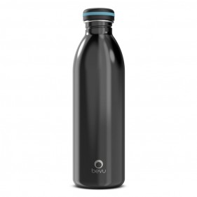 BOTELLA ACERO INOXIDABLE BEVU ONE 750ML - BLACK