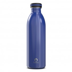BOTELLA ACERO INOXIDABLE BEVU ONE 750ML - DENIM