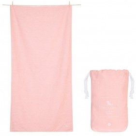 TOALLA DOCK&BAY ACTIVE ECO ROSA - LARGE